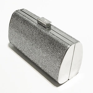Sasha Macy's Evening Clutch Glitter Hard Bag